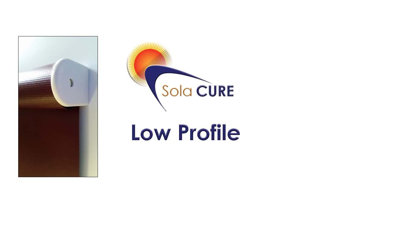 Low Profile Blackout Blinds Sola Cure